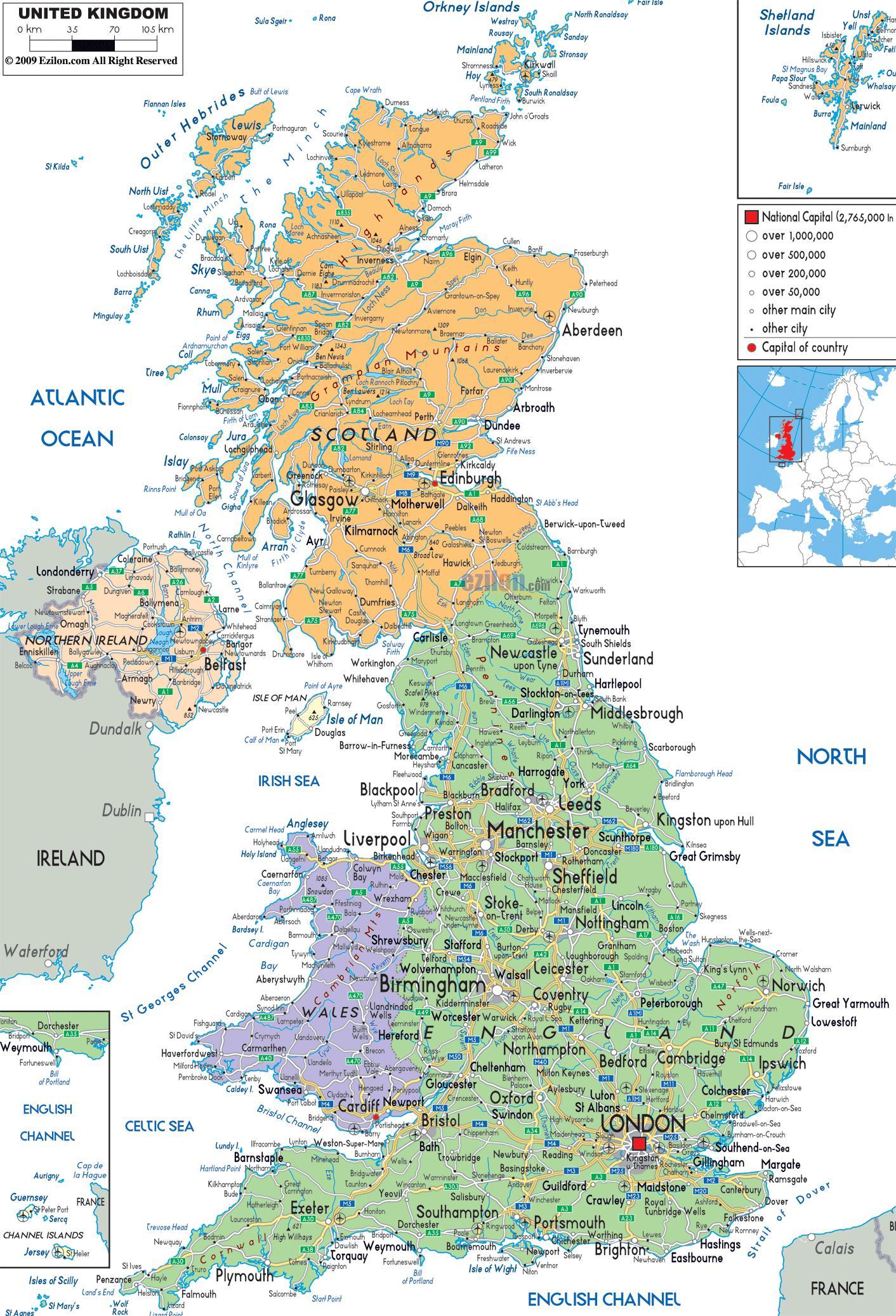 خريطة الشارع المملكة المتحدة الرمز البريدي المملكة المتحدة خريطة الشارع شمال أوروبا أوروبا